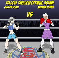 Skylar vs Nesrine (CLOSED!) by mayydayy