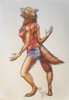 Werewolf by soluble-hermit