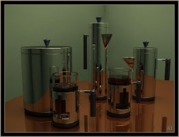 Smod Coffee Set by Sprogger