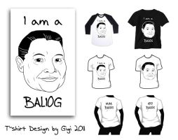 Shirt Designs - Lolo Tanciong by gwendy85