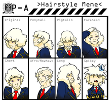 {PA} Theo -  Hairstyle Meme by Broeckchen