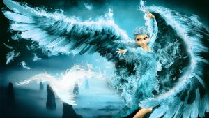 Frozen - 1920x1080 (Elsa Ice Wings) by CoGraphiC