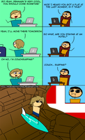 Couchsurfing by IronyProductions