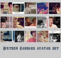 Sixteen Candles avatar set by onlyalive8