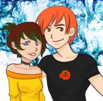Scott and Payton by faycoon
