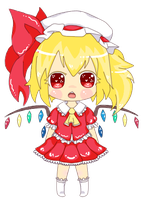 Scarlet Flandre Page Doll by SteffieSilva