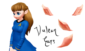 Vulcan Ears by OurHeartsRhythm