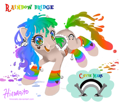 MLP FIM: Rainbow Bridge OC by hinoraito