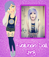 Evolution Doll .png by RoohEditions