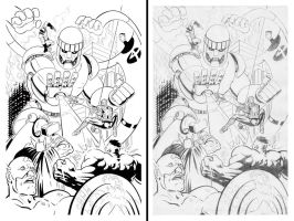 Inks over pencils PG 1of2 by NGoff