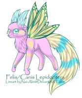Felis/Canis Lepidoptera Adopt by Inner-Realm-Adopts