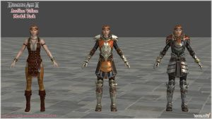 Dragon Age II: Aveline Vallen model pack (UPDATED) by Berserker79