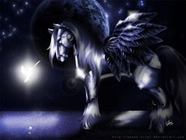 Teach Me How To Fly by Queen-Uriel