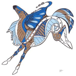 Tribal Horse - for starhorse