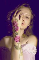 roses on skin by DariaGALLERY