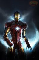 Iron Man by Del-Borovic