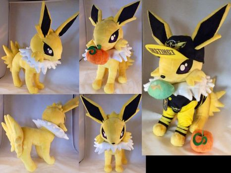 Instinct Jolteon Plush by StarMassacre