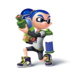 Inkling Boy Transparent by Zesiul