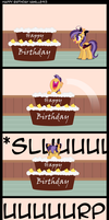 Happy Birthday Vanille913 by Thunderhawk03