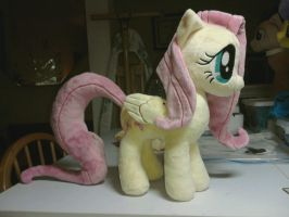 Fluttershy v.5 Progress by makeshiftwings30