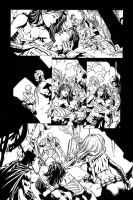 Forever Evil issue 7 interior sequential by Blasterkid