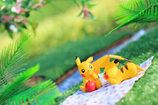 Pikachu date by Awesomealexis1