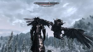 Behemoth Feathered Dragon for Skyrim 1 by Zerofrust