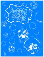 Rebirth Posters- Bubble Bobble by Bobman32x