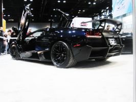 Murcielago LP670 SV at the Chicago Auto Show by zalmyw88