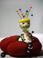The Pin Cushion Queen by happyrocketfingers