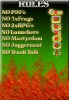 Call of Duty 4 Rules by iEniGmAGraphics