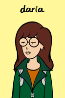 Daria Morgendorffer by Namelessv1