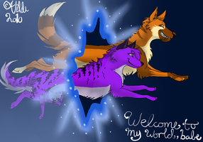 Welcome to my world, babe by slosskamp