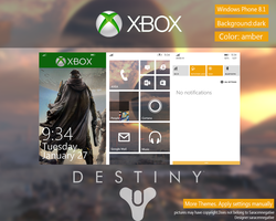 Destiny Theme WP8.1 by saracennegative