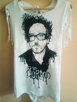 Tim Burton T-shirt by raVen-MacKay