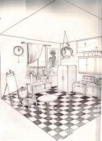 two point perspective room by twistedEXIT