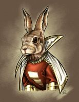 Hoppy the Marvel Bunny by AdamWithers