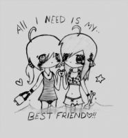 ::BEST FRIENDS:: by MyRealityIsSexy