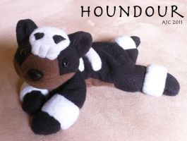 Houndour by LeluDallas