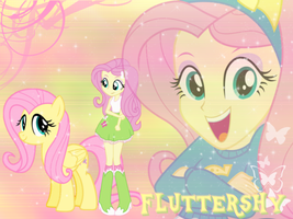 EG Fluttershy Wallpaper by NatouMJSonic