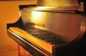 Baby Grand Piano by MontgomeryKern