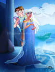 My Atlantis fanart remake by MarineElphie