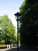 lamp-post in the park by Bokor