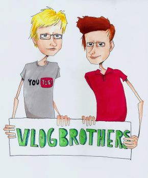 The VlogBrothers by Lasrin