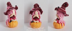 Witch in fimo 01 by Nailyce
