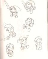 Paper Link Sketch by Decapitated-Kittens