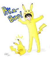 Contest entry: Pika-BOO by firehorse6