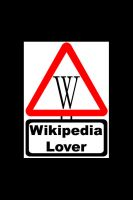 Warning - Wikipedia Lover by Fennic