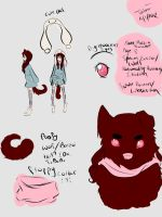 Marzia Reference sheet by HaniHunni