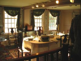 inside house of seven gables by cliford417